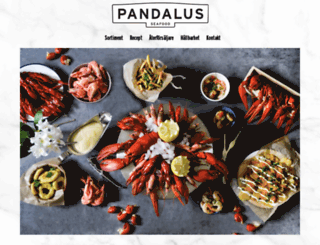 pandalus.se screenshot