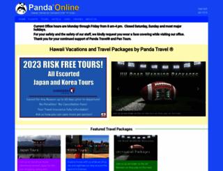 pandaonline.com screenshot