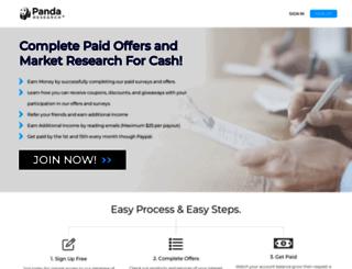 pandaresearch.com screenshot