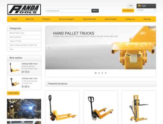 pandatools.com screenshot