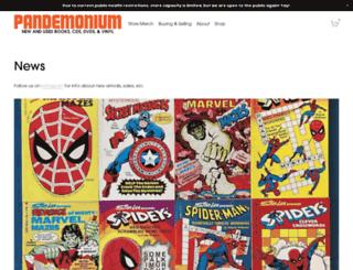 pandemonium.ca screenshot