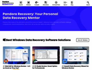 pandorarecovery.com screenshot