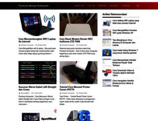 panduankomputer-it.blogspot.com screenshot