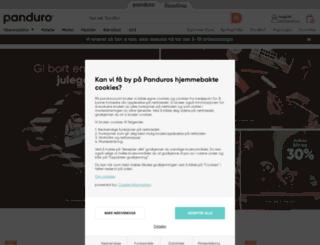 pandurohobby.no screenshot