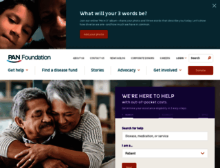 panfoundation.org screenshot