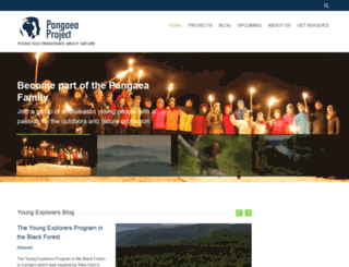 pangaea-project.org screenshot