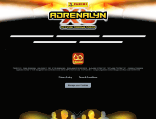 paniniadrenalyn.com screenshot