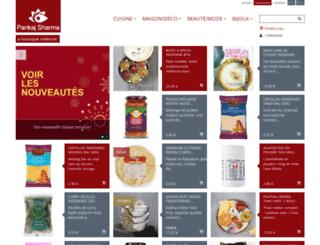 pankaj-boutique.com screenshot