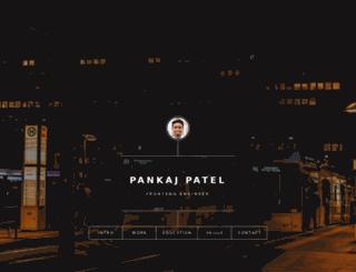 pankaj.pro screenshot