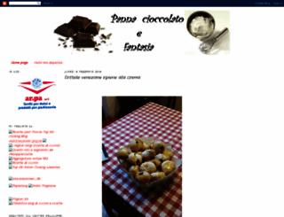 pannacioccolatoefantasia.blogspot.com screenshot