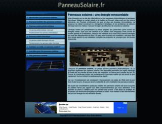 panneausolaire.fr screenshot