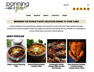 panningtheglobe.com screenshot