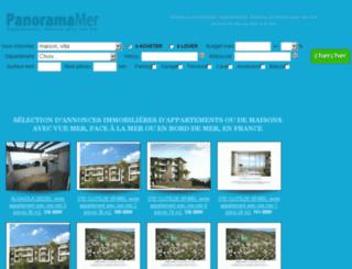 panoramamer.com screenshot