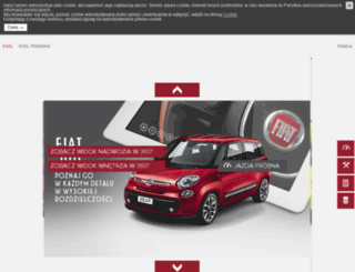 panoramy.fiat.pl screenshot