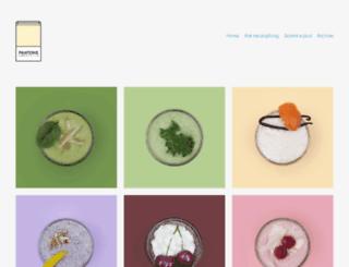 pantonesmoothies.com screenshot