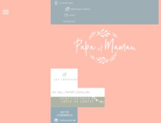 papaetmaman.fr screenshot