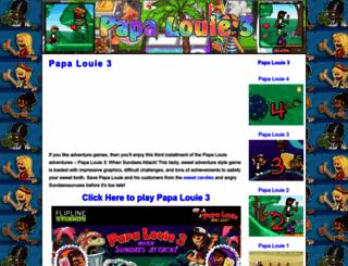 papalouie3.com screenshot