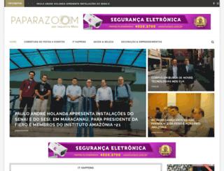 paparazoom.com.br screenshot