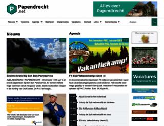 papendrecht.net screenshot