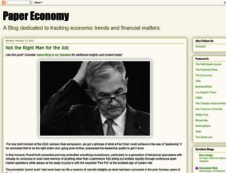 paper-money.blogspot.in screenshot