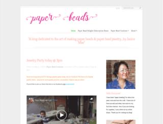 paperbeads.org screenshot