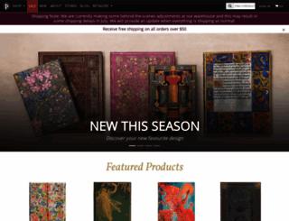 paperblanks.com screenshot