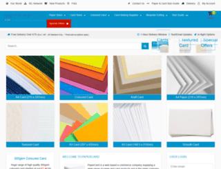 papercard.co.uk screenshot
