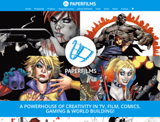 paperfilms.com screenshot