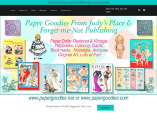 papergoodies.com screenshot