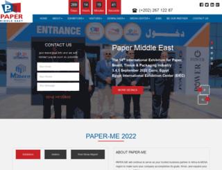 papermideast.com screenshot