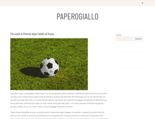 paperogiallo.net screenshot
