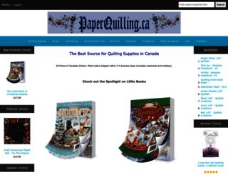 paperquilling.ca screenshot