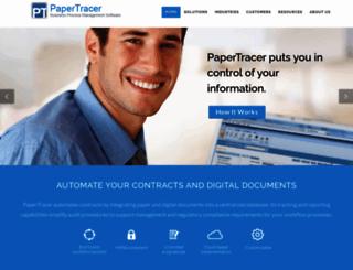 papertracer.com screenshot