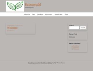 paperworld.co.za screenshot