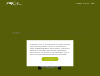 papillo.net screenshot