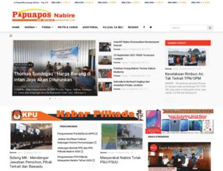 papuaposnabire.com screenshot