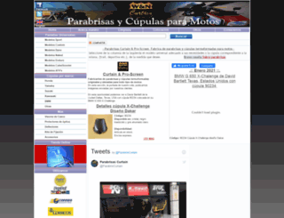 parabrisascurtain.com screenshot