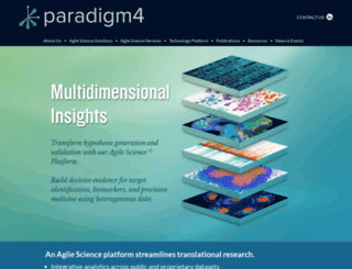 paradigm4.com screenshot