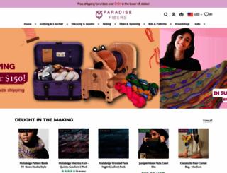 paradisefibers.com screenshot