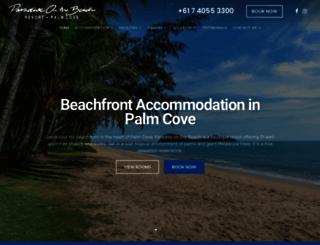 paradiseonthebeach.com screenshot
