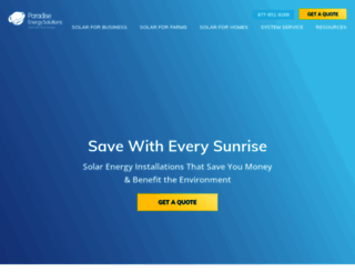 paradisesolarenergy.com screenshot