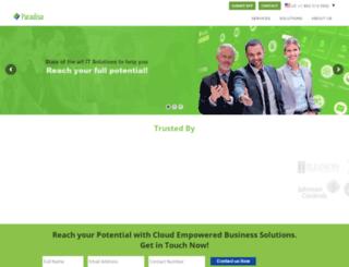 paradisolms.com screenshot