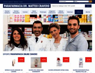 parafarmaciacravero.com screenshot
