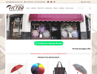 paragueriavictor.com.ar screenshot
