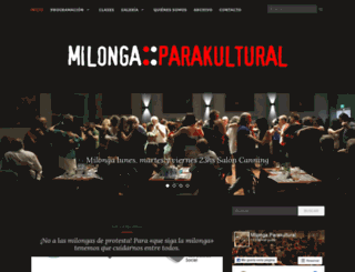 parakultural.com.ar screenshot