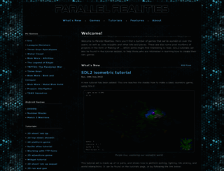 parallelrealities.co.uk screenshot
