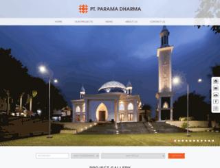 paramadharma.co.id screenshot