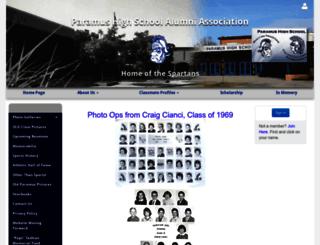 paramusspartans.net screenshot