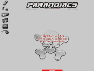 paranoiacs.de screenshot