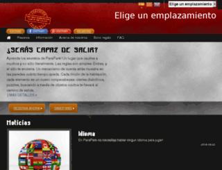 parapark.es screenshot
